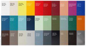 豊富なカラーリングのiSimar(イシマール)の家具