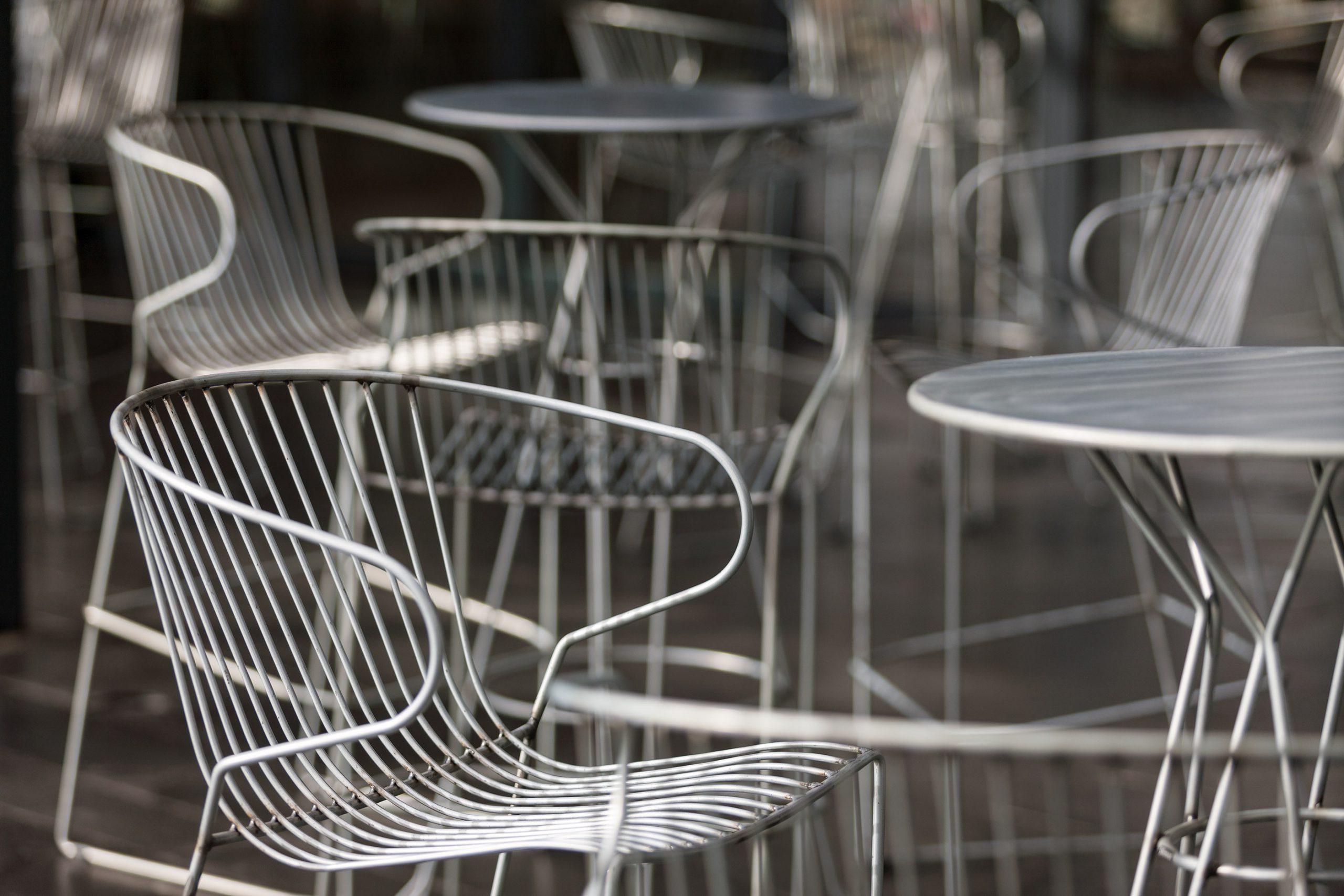 優れた耐候性、耐久性があるiSimar(イシマール)の家具