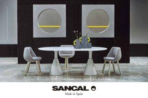 インテリアとデザインの雑誌『エル・デコ(ELLE DECOR)』2021年3月号にsancalの商品が掲載されました。